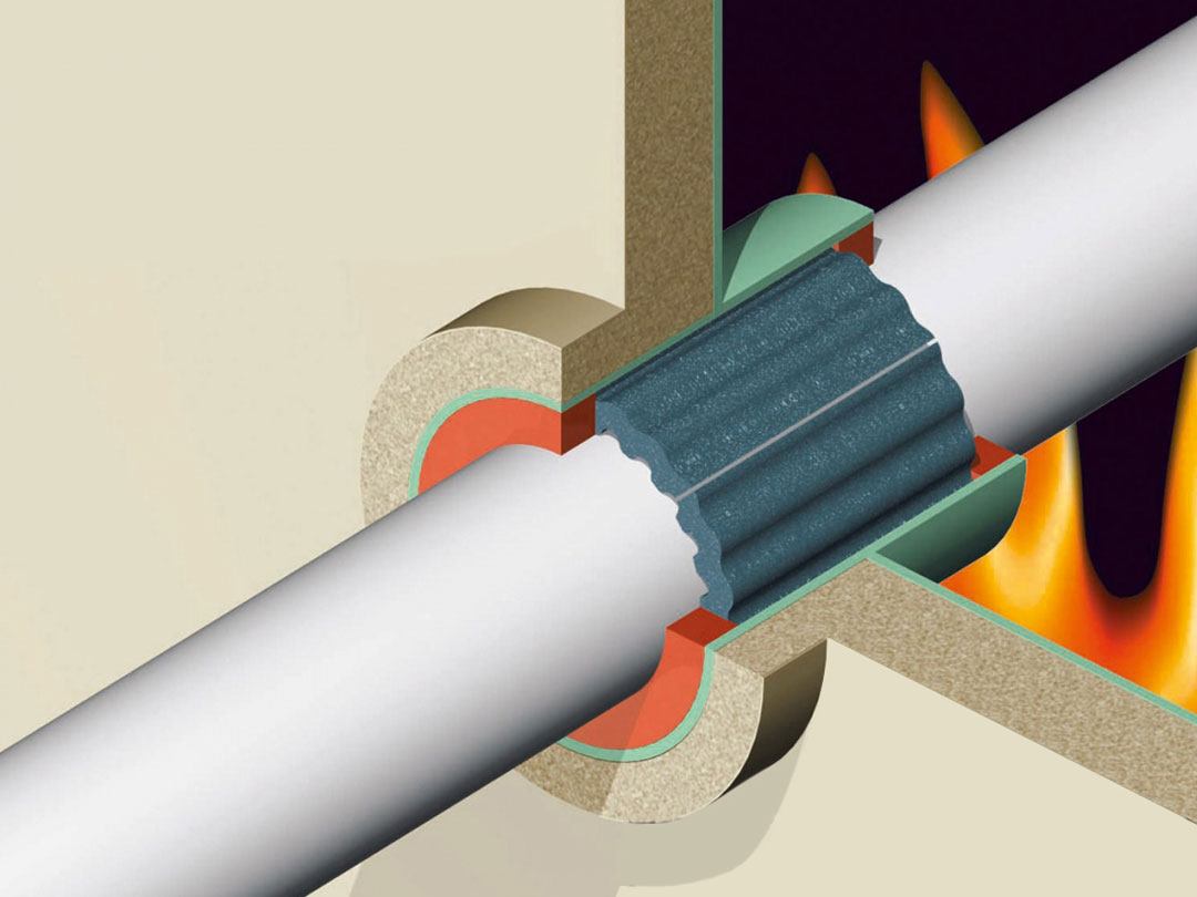 fire safe pipe sleeves