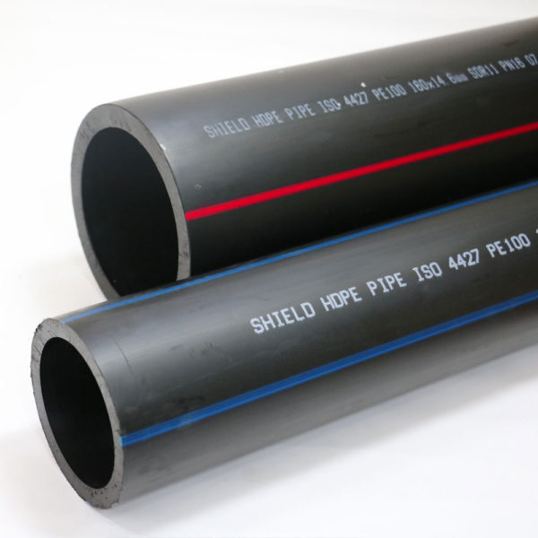 HDPE pipes for water, gas and firefighting applications